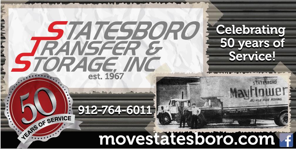 Statesboro Transfer Storage 50 years